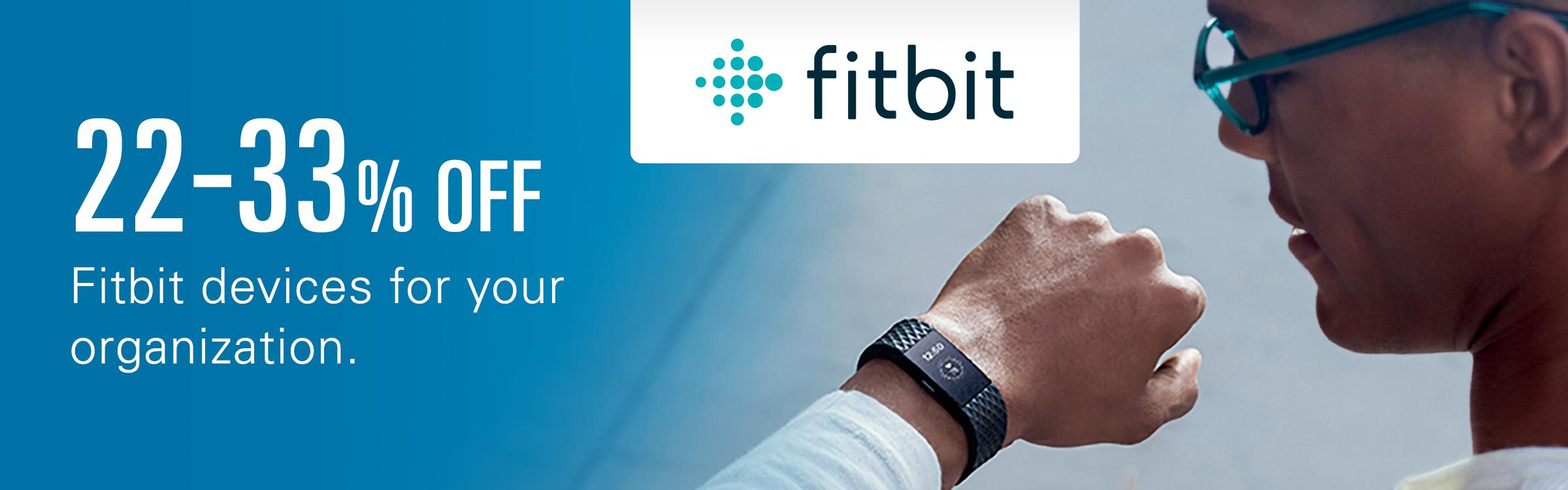Fitbit Promotion for Employers