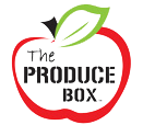 The Produce Box Logo--Red Apple